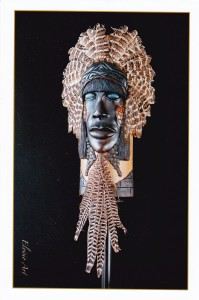 Eloisio BARBOSA PACHECO masque Albert GRELLIER